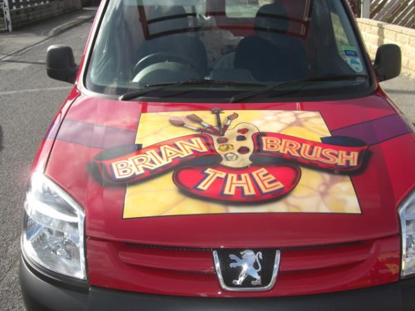 Brian the Brush Van