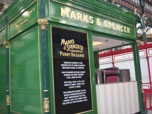 M&S Kirkgate Market – Leeds
