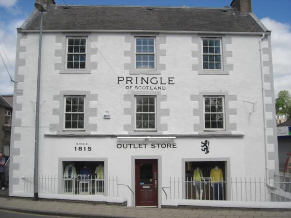 Pringle Outlet Shop – Hawick (Scotland)