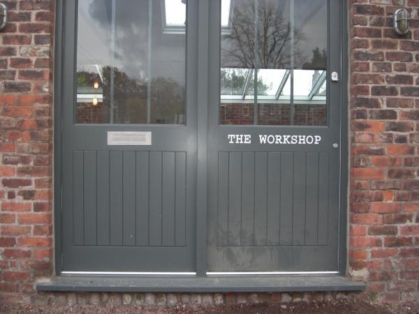 Workshop Door – Manchester