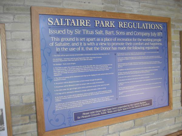 Roberts Park  – Saltaire