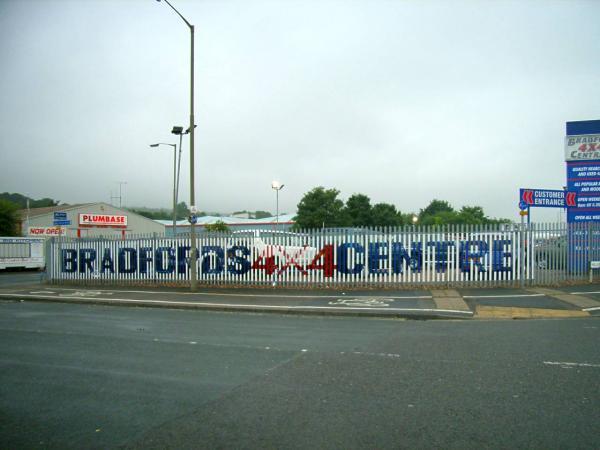 4X4 Fence – Bradford