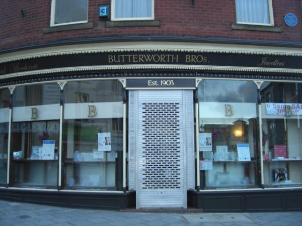 Butterworth Brothers Jewellers – Rochdale