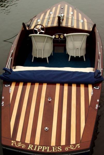 Gold Leaf Boat