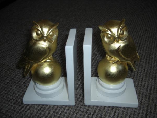 Goldleaf Bookends