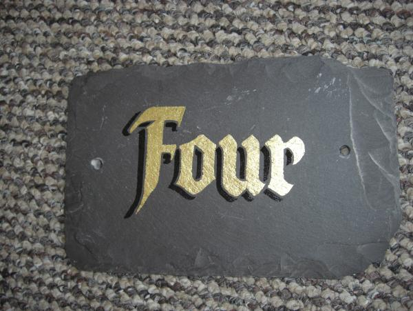 House Number Sign – Bradford