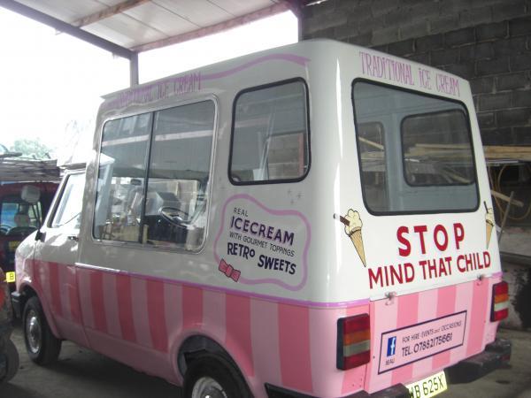 Ice Cream Van – Dewsbury