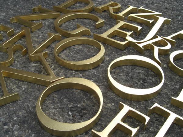 Goldleaf Letters
