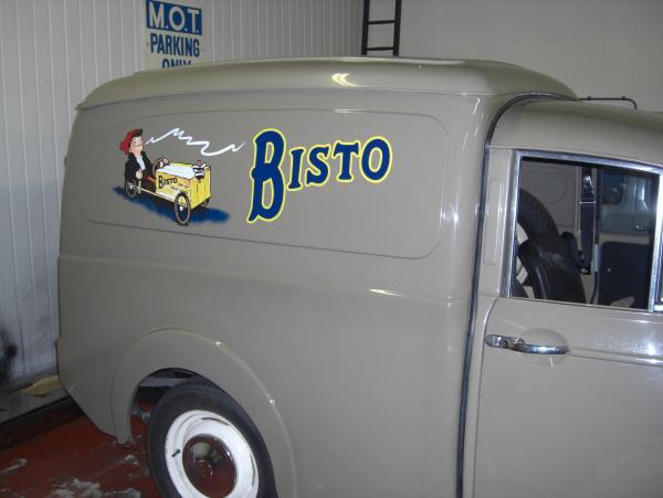 1960s Morris 1000 Van