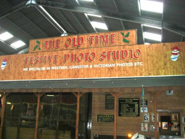 Old Time Festive Photo Studio – Blackpool