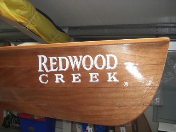 Plywood Canoe Branding