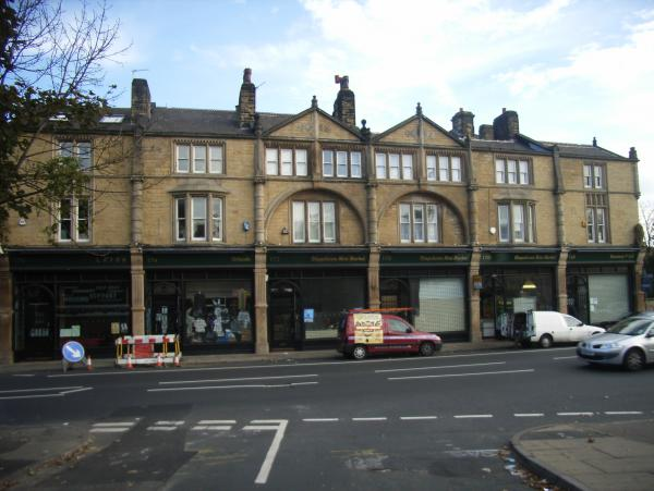 Row of Shops – Leeds