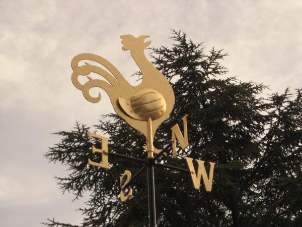 Goldleaf Weather Vane – Barnet