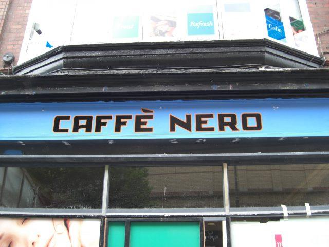 Caffe Nero – Dublin City, Ireland.