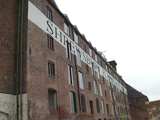 Flax Mill, Shrewsbury